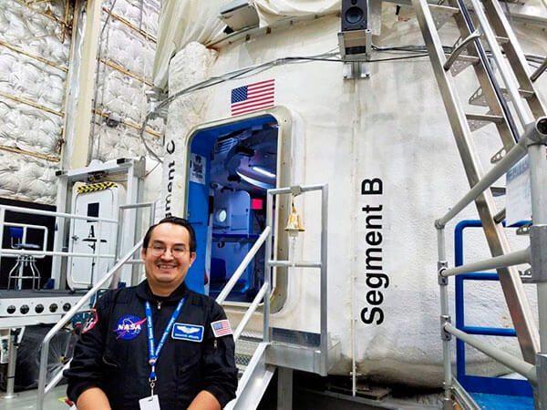 Mexicano contribuirá para llevar al primer humano a Marte