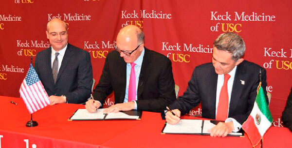 CDMX y USC desarrollarán esquema de atención médica para latinos en EU