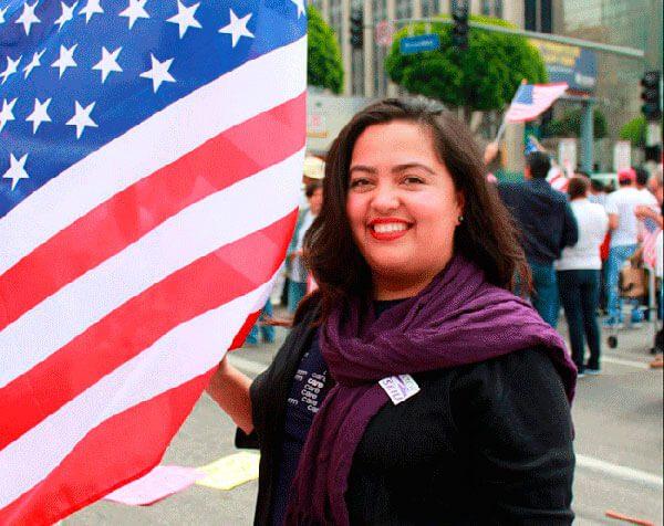Llegó como indocumentada y ahora es candidata al congreso de EEUU