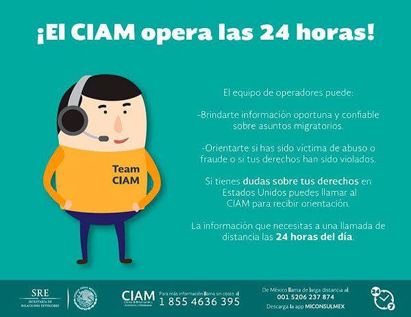 CIAM brinda protección consular a los mexicanos en EEUU