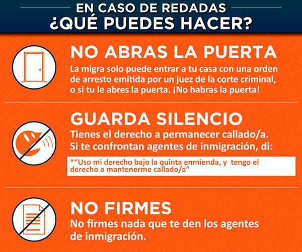 Guía de ayuda para inmigrantes ante deportaciones