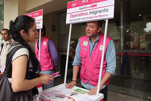Sederec garantiza derechos de población migrante, huésped y sus familias