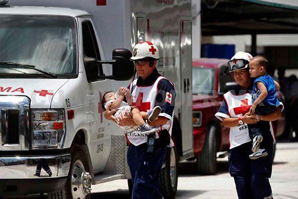 Cruz Roja Mexicana apoya a migrantes en Sonora