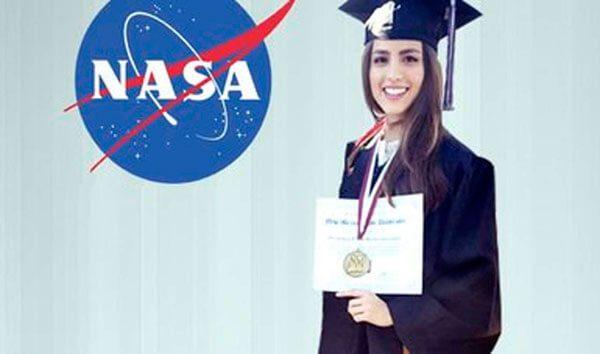 Joven mexicana es seleccionada para realizar una estancia en la NASA