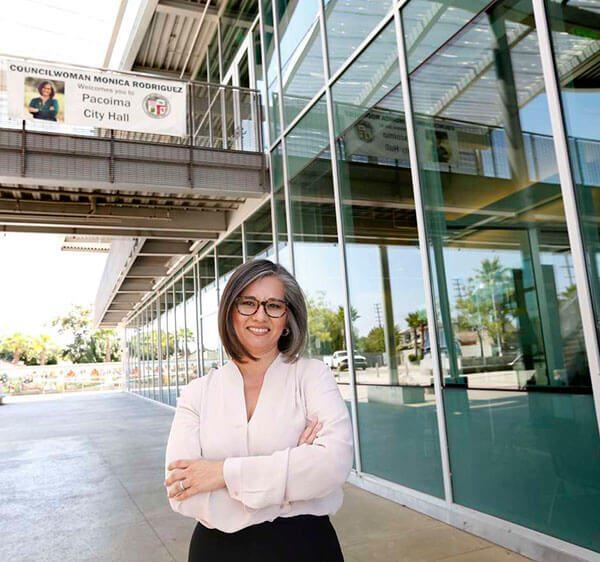 Mónica Rodríguez, la tercera latina concejal en toda la historia de Los Ángeles