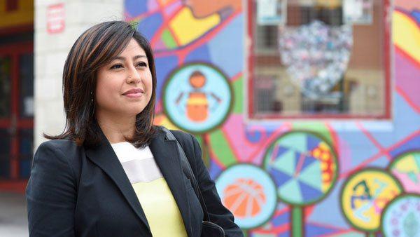 Migrante ecuatoriana, una de las 100 personas más influyentes del mundo