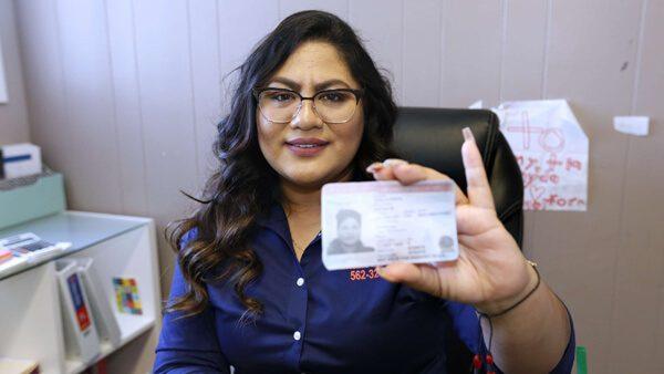Hoy, después de tanto esfuerzo, Sayda Ayala lidera una empresa de transporte
