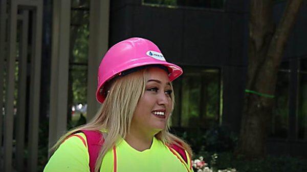 Jessy Amador, hondureña que llegó sin papeles y hoy tiene su empresa en el sector de la construcción