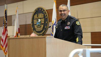 Puertorriqueño nombrado jefe del Departamento de Policía de Orlando