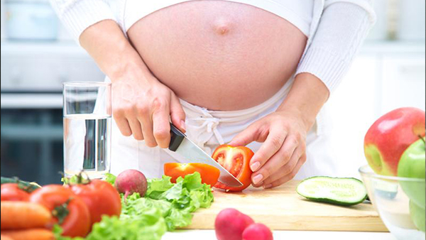Cómo evitar el sobrepeso en el embarazo