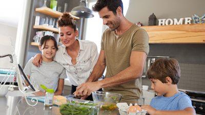 Inculca hábitos saludables en tus hijos