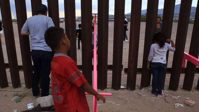 Columpios en el Muro, rompe barreras entre México y USA