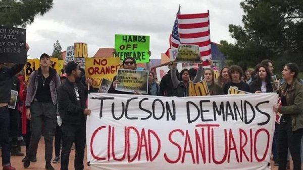 Tucson busca ser ciudad santuario