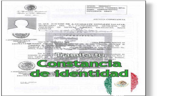 Constancia de identidad, el trámite que todo mexicano debe hacer