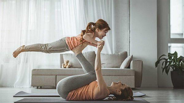 Por qué importante hacer ejercicio en familia durante el confinamiento