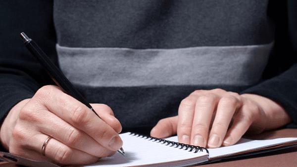 Elimina el estrés con la escritura