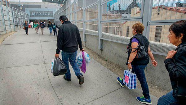 50% de los negocios en San Ysidro corren peligro por restricción fronteriza